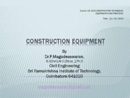 Introduction to Building construction technology i