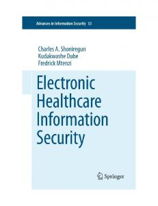Introduction to e-Healthcare Information Security