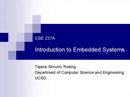 Introduction to Embedded Systems - Computer Science and ...