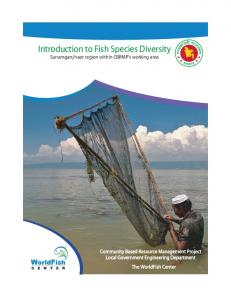 Introduction to Fish Species Diversity