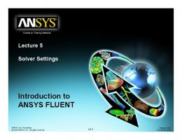 Introduction to Introduction to ANSYS FLUENT - iMechanica