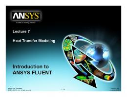 Introduction to Introduction to ANSYS FLUENT