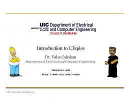 Introduction to LTspice - Electrical and Computer Engineering