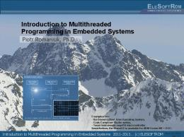 Introduction to Multithreaded Programming in Embedded Systems