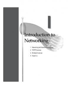 Introduction to Networking Introduction to Networking - Nettech