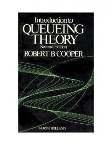 Introduction to Queueing Theory - Computer & Electrical ...