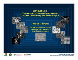 Introduction to Transmission/Scanning Transmission Electron ...