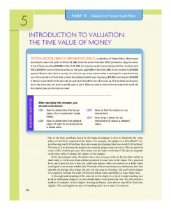 introduction to valuation: the time value of money - McGraw-Hill
