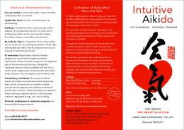 Intuitive Aikido - Intuitive Well