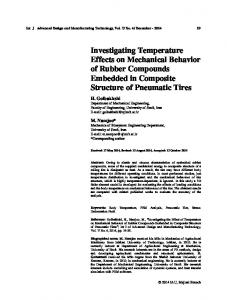 Investigating Temperature Effects on Mechanical ...