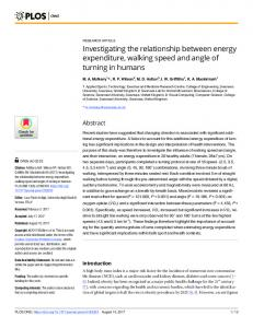 Investigating the relationship between energy