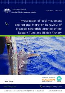 Investigation of local movement and regional