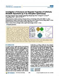 Investigation of Structural and Magnetic Properties of CoPt/CoAu ...