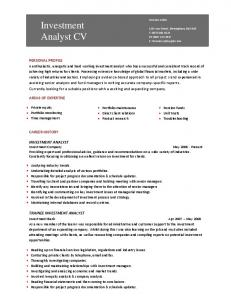 Marketing assistant cv template dayjob mafiadoc investment analyst cv template dayjob pronofoot35fo Gallery