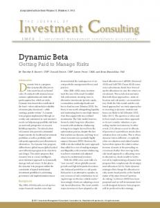 Investment Consulting