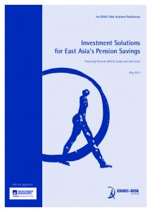 Investment Solutions for East Asiahs Pension Savings