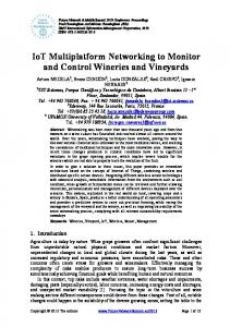 IoT Multiplatform Networking to Monitor and Control ... - IEEE Xplore