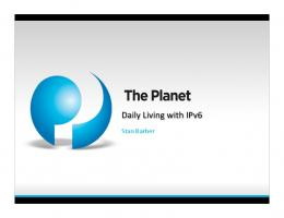 IPv6 in Daily Use