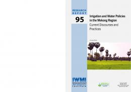 Irrigation and Water Policies in the Mekong Region ... - AgEcon Search