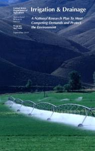 Irrigation & Drainage - Agricultural Research Service - U.S. ...