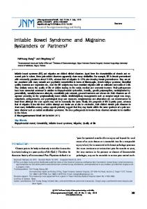 Irritable Bowel Syndrome and Migraine - Journal of