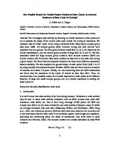 Is a Second Maximum of Solar Cycle 24 Coming? - arXiv