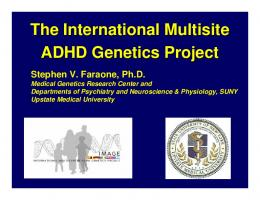Is ADHD an - National Human Genome Research Institute