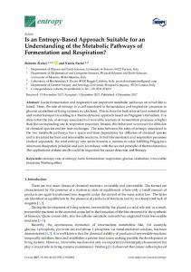 Is an Entropy-Based Approach Suitable for an ... - Semantic Scholar