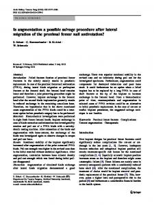 Is augmentation a possible salvage procedure after lateral migration of ...