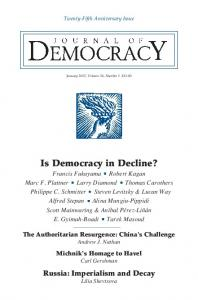 Is Democracy in Decline? - Journal of Democracy