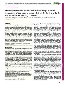 is oxygen delivery the limiting factor for