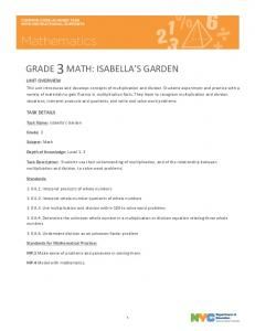 Isabella's Garden - New York City Department of Education - NYC.gov