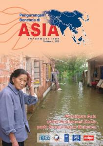 ISDR Book - Asian Disaster Preparedness Center