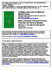 Islam and the Medieval Mediterranean Islamic ...