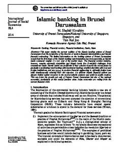 Islamic banking in Brunei Darussalam - Make Money Easily
