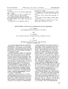 Isoelectronic Traps Due to Nitrogen in Gallium ... - APS Link Manager