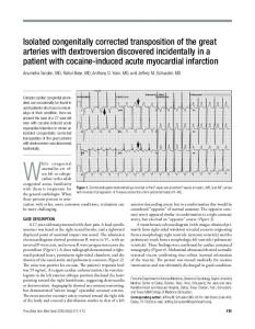 Isolated congenitally corrected transposition of the great arteries with ...
