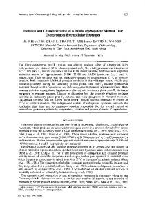 Isolation and Characterization of a Vibvio a&inolyticus ... - CiteSeerX