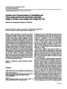 Isolation and Characterization of Alkaliphilic and ... - Springer Link