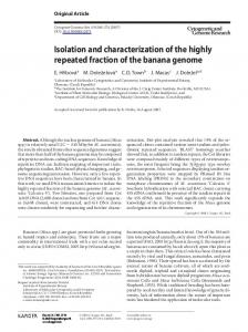Isolation and characterization of the highly ... - Semantic Scholar