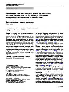 Isolation and characterization of tri and tetranucleotide ... - Springer Link