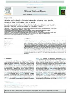 Isolation and molecular characterization of a