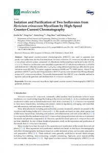 Isolation and Purification of Two Isoflavones from