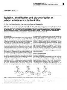 Isolation, identification and characterization of related