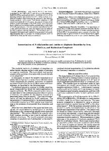 Isomerization of N-allylamides and-imides to aliphatic enamides by