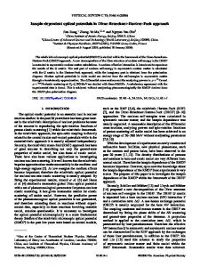 Isospin-dependent optical potentials in Dirac ... - APS link manager