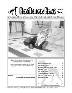 Issue 37 - Greyhound Pets of America