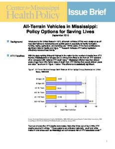 Issue Brief - Center for Mississippi Health Policy