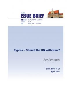 Issue Brief - ECMI