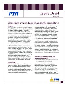 Issue Brief - PTA